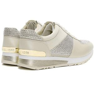 Michael Kors Allie Wrap Trainer Glitter